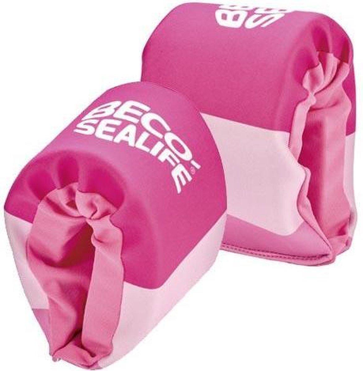 BECO-SEALIFE zwembandjes, neopreen zwembandjes, 15-30 kg, roze