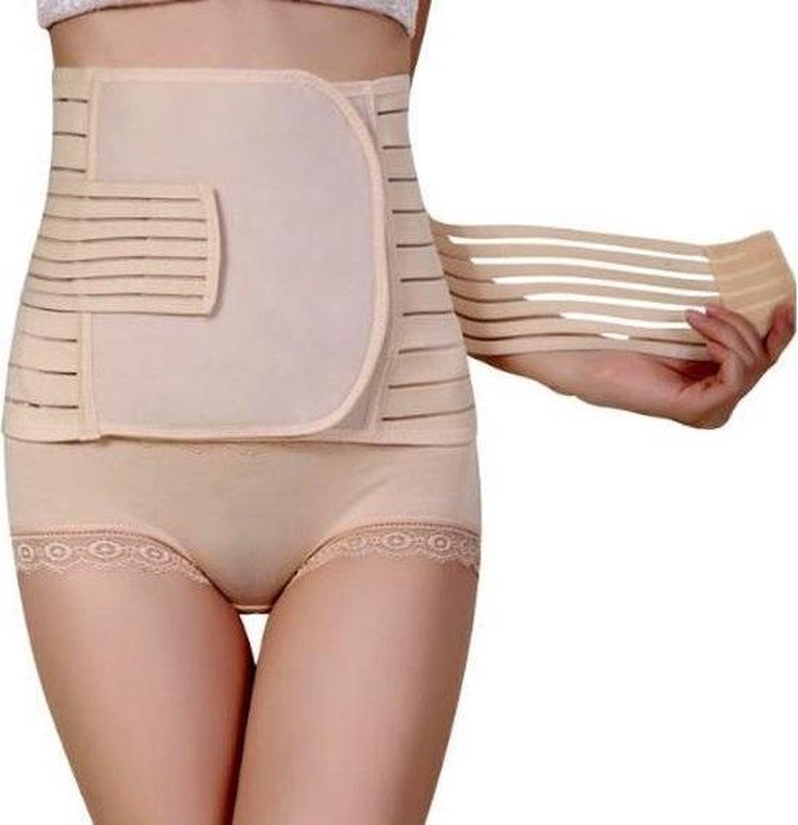 WiseGoods - Postpartum Zwangerschapsband - 3-in-1 Sluitband - Buikband Zwangerschap - Postnatale Slu