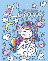 Licorne 2: Livre de Coloriage Pour les Enfants de 4 � 12 Ans
