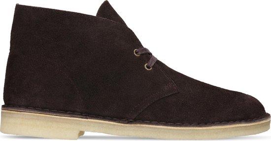 Clarks - Herenschoenen - Desert Boot - G - chocolate sde - maat 7,5