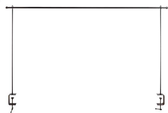 Esschert Design Tafelklem 250 X 119,5 Cm Zwart Maat L 3-delig