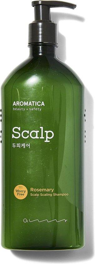 Aromatica Rosemary Scalp Scaling Shampoo 400ml | Shampoo zonder sulfaten
