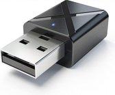 2 in 1 USB Bluetooth 5.0 Zender en Ontvanger - Ber
