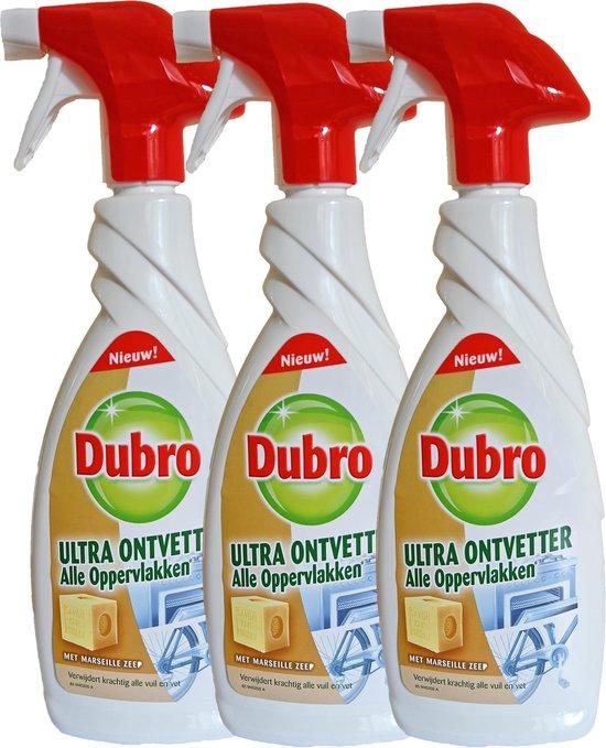 Dubro Ultra Ontvetter - Verwijdert krachtig alle vuil en vet - 3x 650 ml