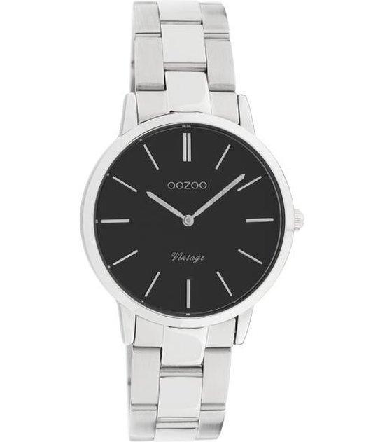 Oozoo Dames horloge-C20043 zilver (34mm)