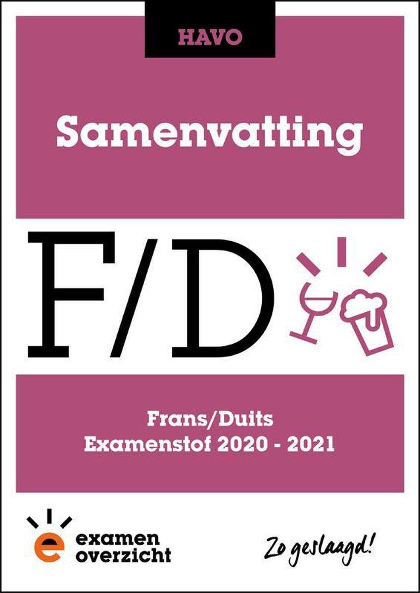 ExamenOverzicht - Samenvatting Frans en Duits HAVO