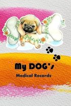 My Dog's Medical Records: Keep track of your dog's shots and vet visits.