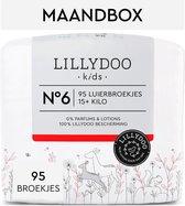 LILLYDOO luierbroekjes - Maat 6 (15+ kg) - 95 Stuks - Maandbox