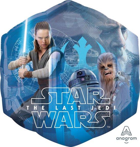 Star Wars Helium Ballon The Last Jedi 58cm leeg