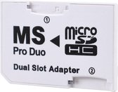 TCG   Micro SD naar Memory Stick Pro Duo geheugenkaart adapter voor o.a. PSP