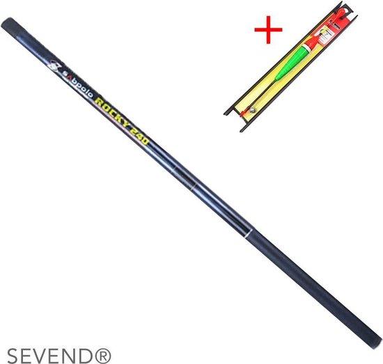 Kinder Vishengel incl. dobber, draad & haakje - Vishengel 270 cm - SEVEND®