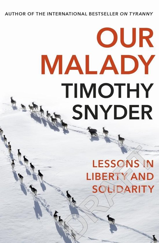Boek cover Our Malady van Timothy Snyder (Paperback)