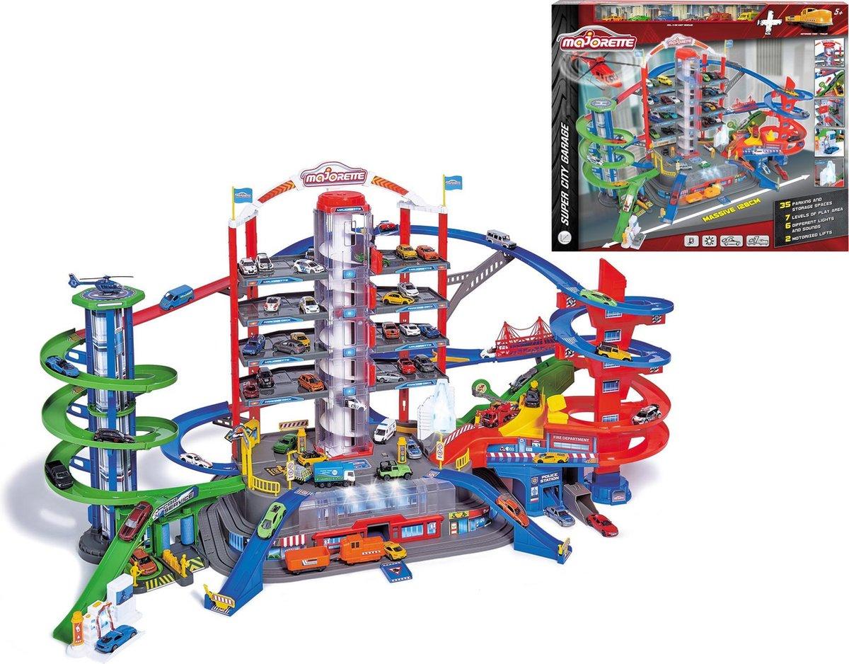 Majorette Super City Garage - Speelgoedvoertuigen
