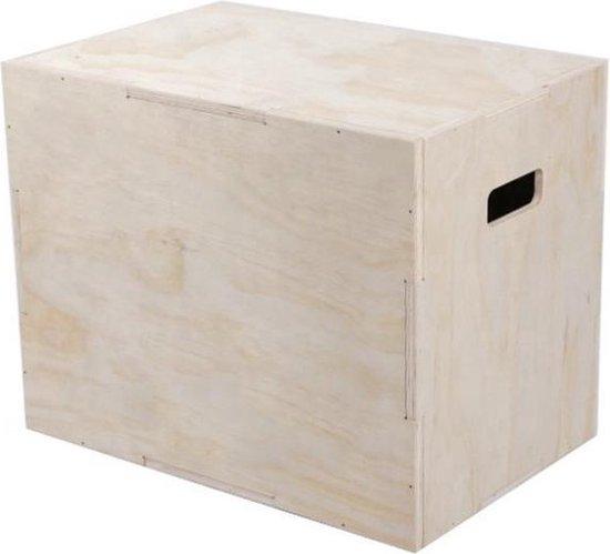 Houten Plyo Box (76x61x51cm)