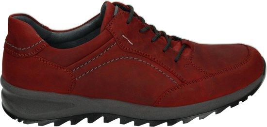 Waldlaufer Mannen Veterschoenen Kleur: Rood Maat: 43