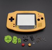Gameboy advance Pokemon behuizing Shell Geel