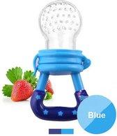 Fruitspeen - Fruit speen baby - Sabbelzakje - Sabbelspeen - Eet speen - Speen - Blauw