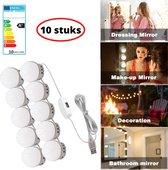 ProLED – Spiegellampen – 10 stuks – Inclusief dimmer – 3meter lang