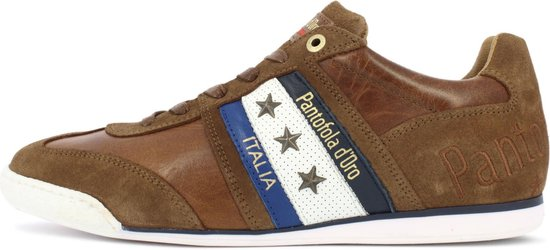Pantofola d'Oro Imola Uomo Stampa Lage Bruine Heren Sneaker 41