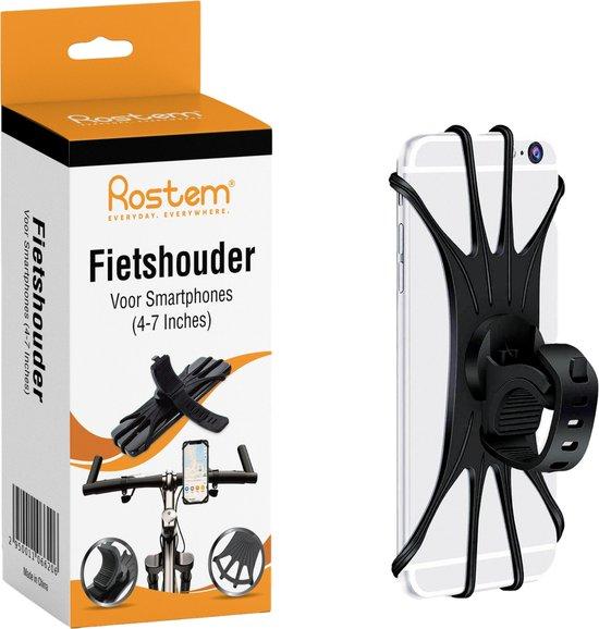 Rostem® Mobiele Telefoon Houder Voor Fiets - Universele Fitting - 360 Graden Draaien - Smartphone Houder - Motor Telefoonhouder - Fietshouder