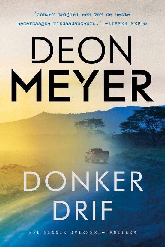 Boek cover Donkerdrif van Deon Meyer (Onbekend)