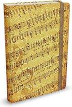 Notitieboekje Peter Pauper Music (mid-size)