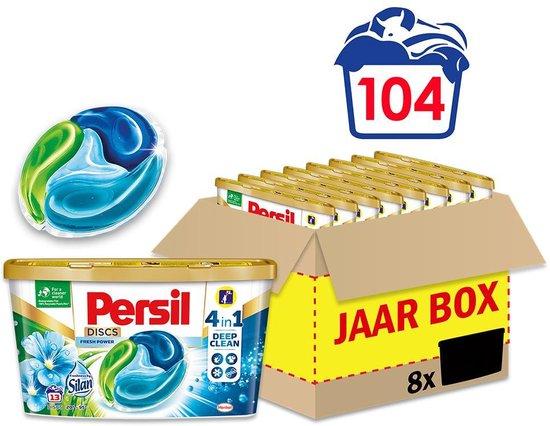 Persil Discs Freshness by Silan Wascapsules - Wasmiddel Capsules - Voordeelverpakking - 8 x 13 wasbeurten