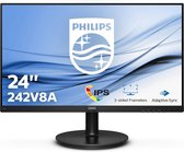 Philips 242V8A - Full HD IPS Monitor - 24 inch