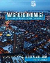 Boek cover Macroeconomics Principles, Applications and Policy Implications van Nurul Samiul Aman