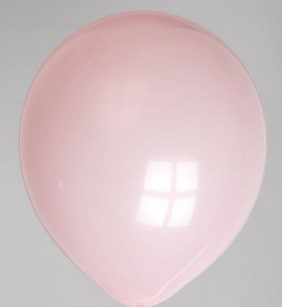 Kwaliteitsballon - 50 st - Pastel Pink