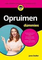 Voor Dummies  -   Opruimen voor Dummies