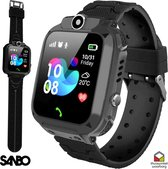 Sanbo Q17 - Kinder Smartwatch - Zwart - GPS & WiFi - kinderen - smartwatches - gps tracker -