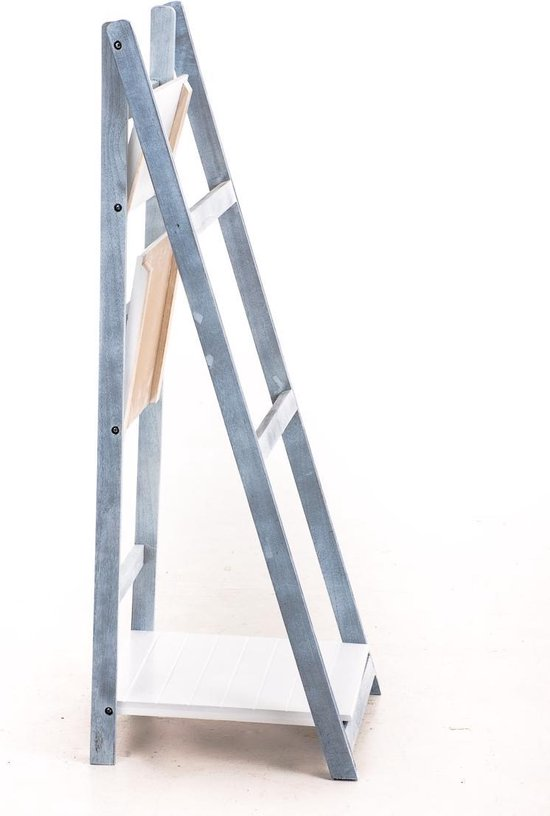 Clp Yana - Ladderrek - Hout - wit - grijs - Clp