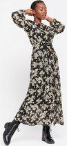 LOLALIZA Maxi jurk met bloemen en ceintuur Dames Jurk