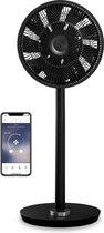 Duux Whisper Flex Smart Ventilator DXCF10 | Statiefventilator | Extreem Stil | WiFi + App | Zwart