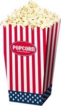 Usa Popcorn Bakjes Party 4st