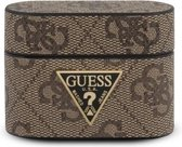 Guess Airpods Pro Case - Bruin - Rond