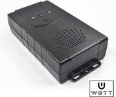 Marterverjager op batterijen of accu / stopcontact – Muggenverjager - Kattenverjager – marterbestrijder voor auto, tuin en huis 12V - Marterverjager auto - Muizenverjager