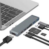 MacBook Pro Dock X met HDMI 4K, USB 3.0, USB-C, SD