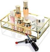 Dawoo Retro decoratief parfum cosmeticapalet voor thuis/huidverzorging/commode/bad/werkbank