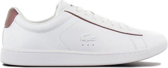 Lacoste Carnaby EVO 318 – Dames Sneakers Sport Casual Schoenen Wit 7-36SPW00422G1 – Maat EU 40 UK 6.5