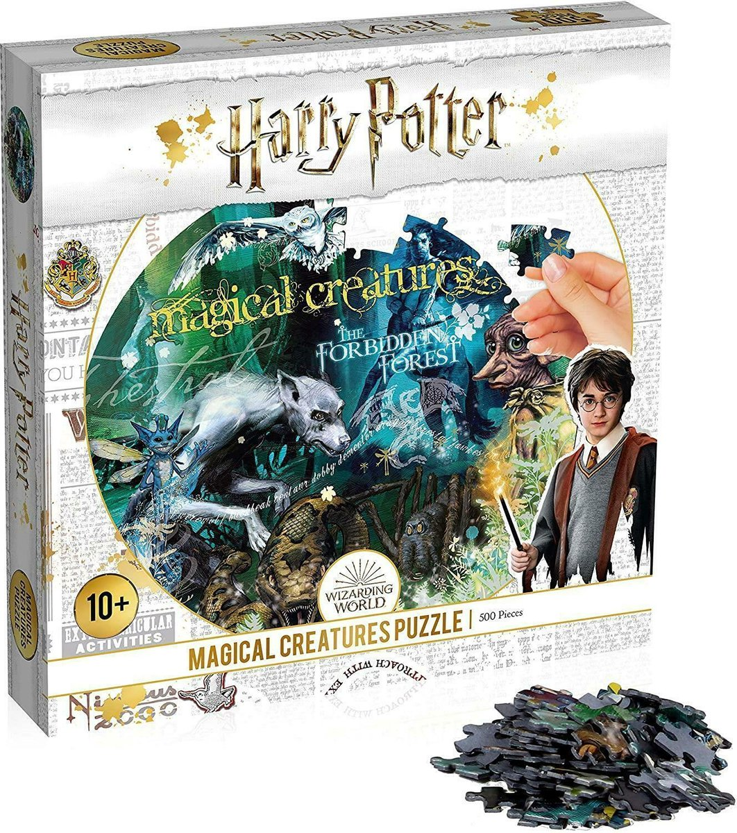 Harry Potter Magical Creatures 500 Pc