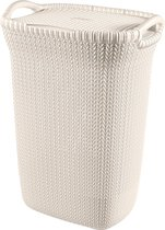 Curver Knit Wasbox - 57L - Oasis White