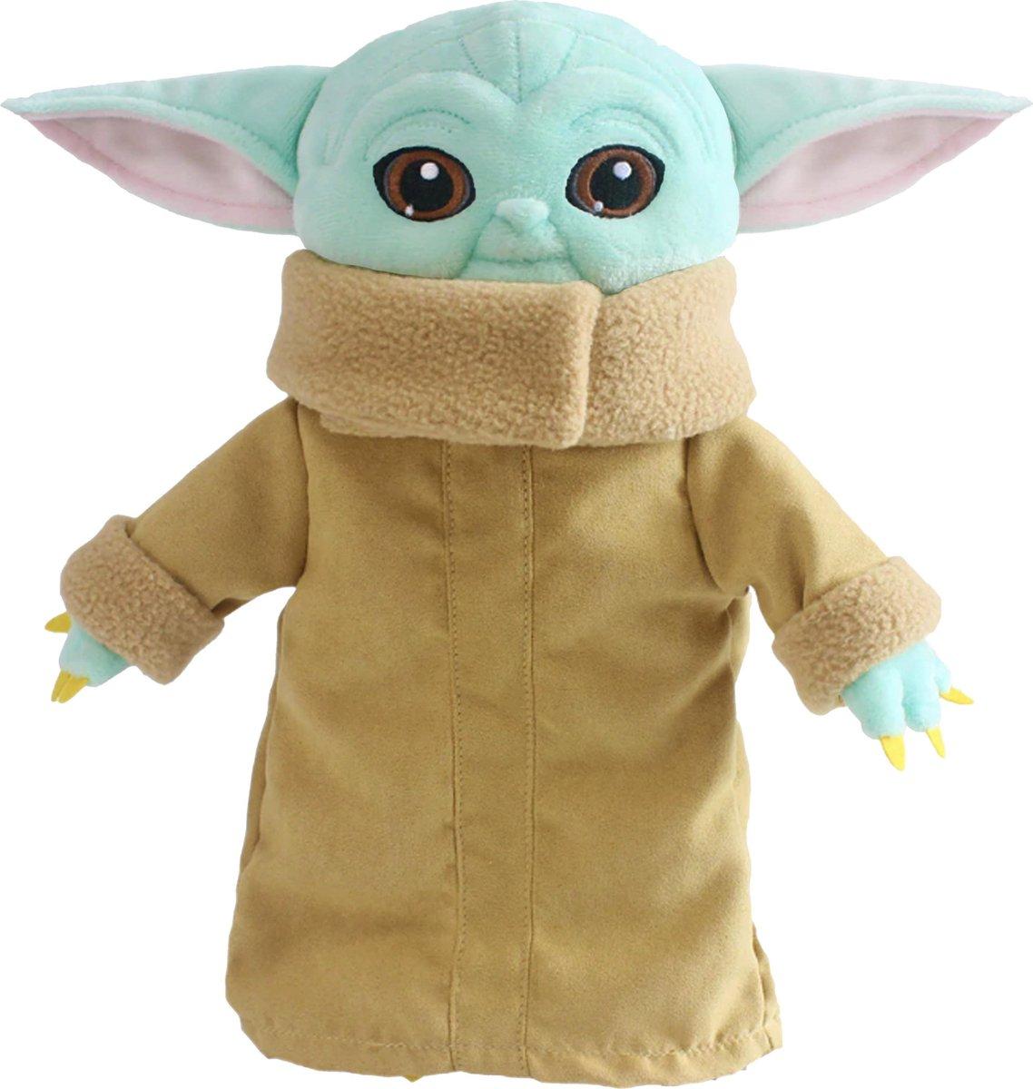 Baby Yoda pop knuffel Plush Look-a-Like - 30 cm