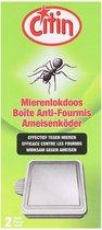 Mierenlokdoos - 2 Stuks - CITIN - E-C Enterprises - Voor binnen en buiten - Insectenval - Lokdoos - Ongediertebestrijding - Mierenval - mieren bestrijden - mieren gif - draaigat - Veilig voor kinderen en dieren
