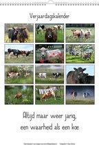 Blik op Holland Koeien & Spreuken Verjaardagskalender