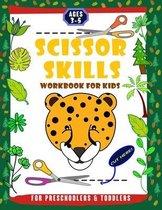 Scissor Skills Workbook for Kids Preschoolers & Toddlers Ages 3-5