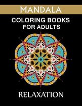 Mandala Coloring Book For Adults Relaxation