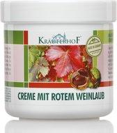 Krauterhof(r)creme With Red Vine Leaves