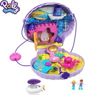 Polly Pocket Large Wearable Compact Polly & Lila Schelpentasje